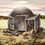Bunker, 2011, Öl/Lwd., 80 x 100 cm