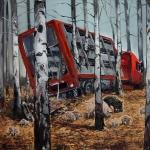 Herbst, 2012, Öl/Lwd., 80 x 100 cm