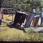 Holz, 2013, Öl/Lwd., 140 x 210 cm