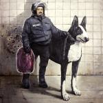oh my dog II, 2011, Öl/Lwd., 200 x 150 cm