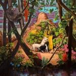 Zimmerpflanzen, 2013, Öl/Lwd., 150 x 190 cm