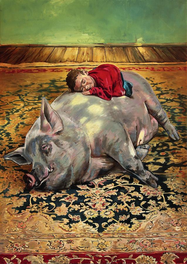 Poster »Teppich II« A2  Hartmut Kiewert
