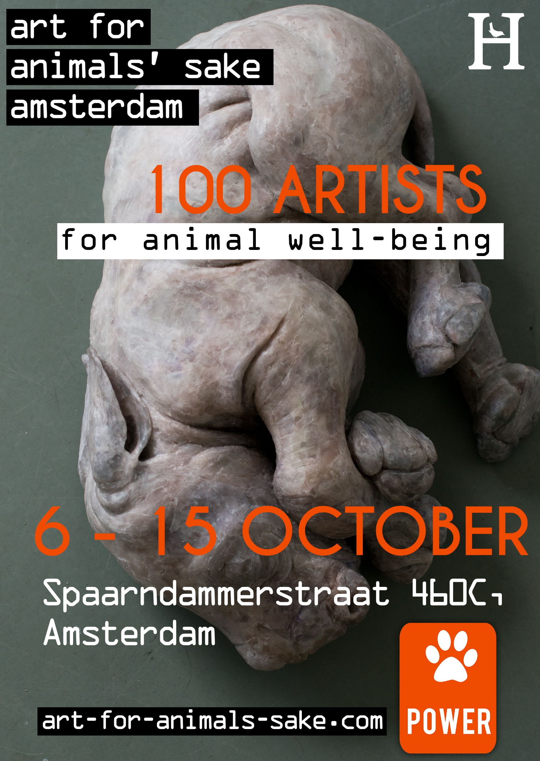 art for animals' sake amsterdam - Hartmut Kiewert