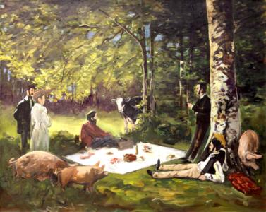 Studie zu Picknick II