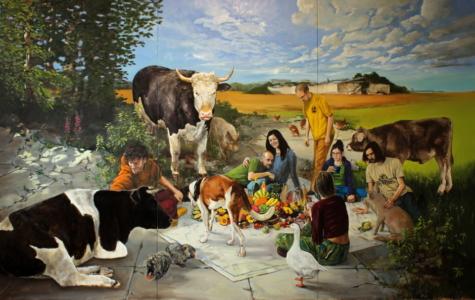 Großes Picknick