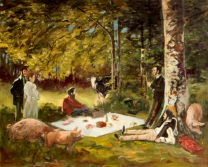 Study for Picknick II