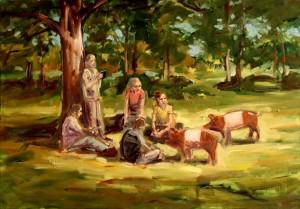 Study for Picknick I